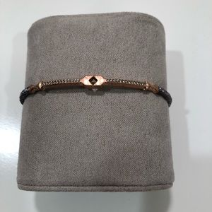 Stell and Dot Rose Gold / Gray Cuff